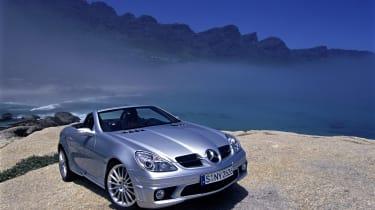 2004 Mercedes-Benz SLK 55 AMG (R171)