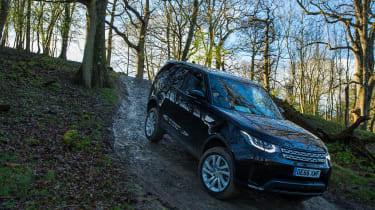 Land Rover Discovery - downhill