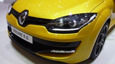Renault Megane new front grille headlights