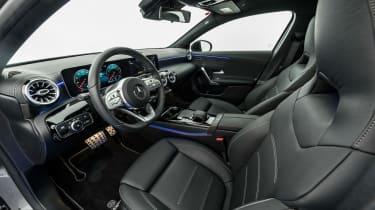 Brabus-tuned A-Class interior
