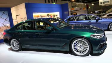 Alpina D5 S GER - side