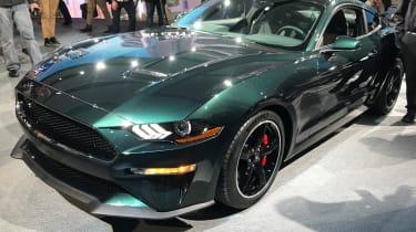Ford Mustang Bullitt – front quarter