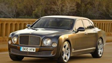 Bentley Mulsanne front static