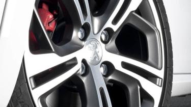 Peugeot 208 GTI alloy wheel