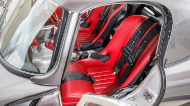 Lightweight Jaguar E-Type - interior