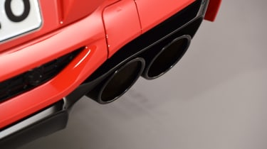 BMW X4 M exhaust