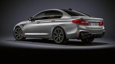 BMW M5 Competition - rear quarter