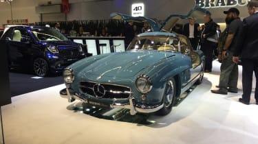 Mercedes-Benz 300SL restored by Brabus - 2017 Frankfurt motor show