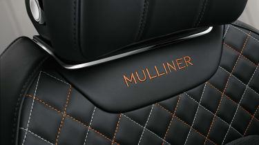 Bentayga Mulliner seat