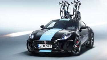 Jaguar SVO builds F-Type Concept for Team Sky