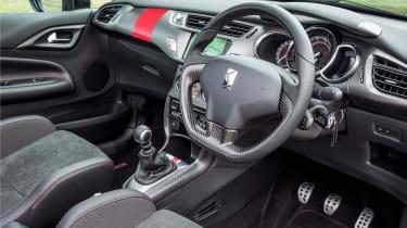 Citroen DS3 Cabrio Racing interior dashboard