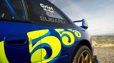 Colin McRae's Subaru Impreza