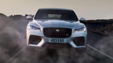 Jaguar F-Pace SVR - nose
