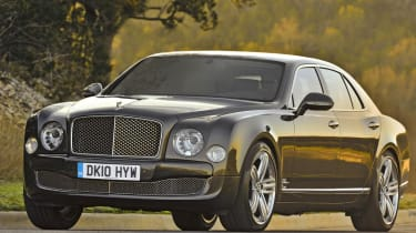 Bentley Mulsanne front tracking low
