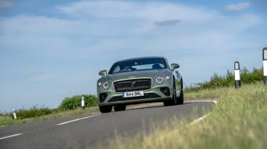 Bentley Continental GT review – green cornering