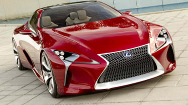 Lexus LF-LC sports car concept