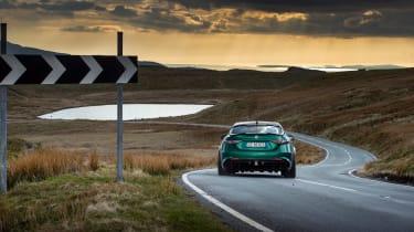 Alfa Romeo Giulia GTAm – rear cornering