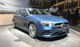 Mercedes-AMG A35 live - front quarter
