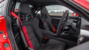 Porsche 911 GT3 - interior