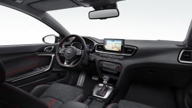 Kia Ceed GT revealed - 2018 dash
