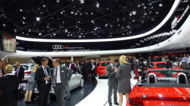 Audi show stand