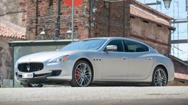 2013 Maserati Quattroporte S V6 silver front