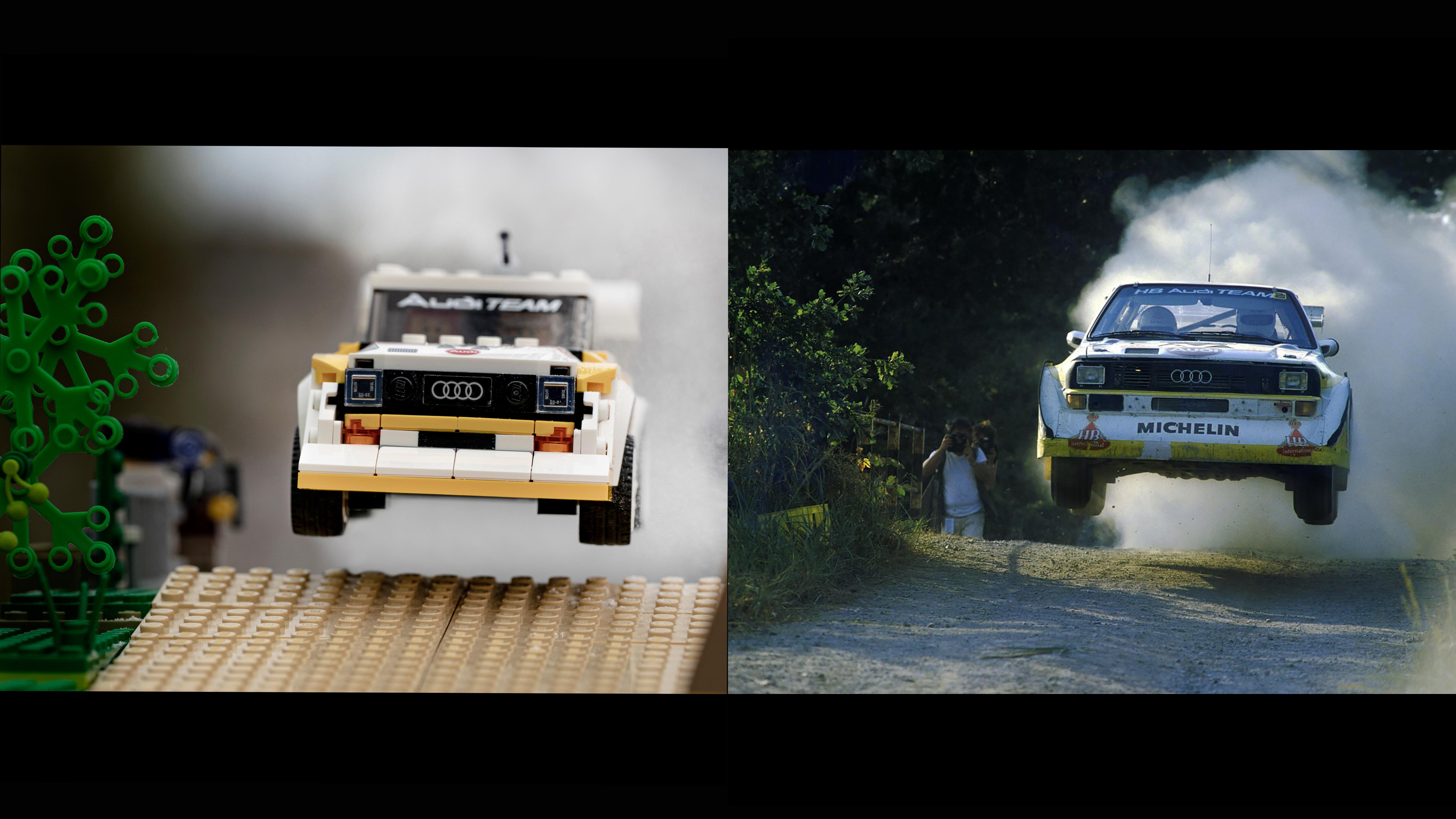 Quarantine Quattro Iconic Audi Rally Scenes Recreated In Lego Evo
