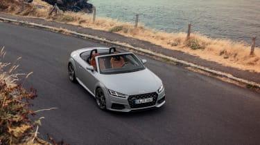 Audi TT facelift - top
