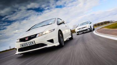 Golf GTI Clubsport S vs Civic Type R Mugen
