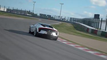 Honda Sports Vision Gran Turismo – rear cornering