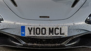 McLaren 720S in Italy - nose