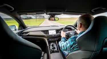 Vauxhall Insignia Grand Sport GSi BiTurbo – interior