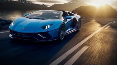 Lamborghini Aventador LP780-4 Ultimae – roadster