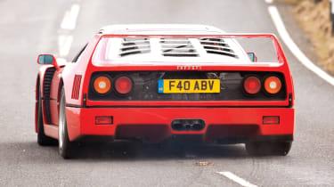 Ferrari F40 rear slide