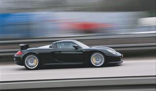 Porsche Carrera GT front