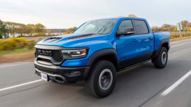 Ram 1500 TRX – front tracking