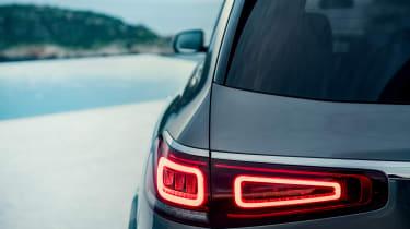 Mercedes GLS - rear lights