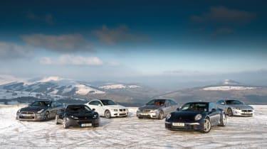 Porsche 911 Carrera group test