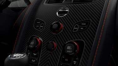Aston Martin Vantage Red Bull Racing - centre console