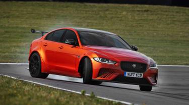 Jaguar XE SV Project 8  drift