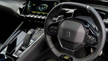Peugeot 508 PSE – steering wheel