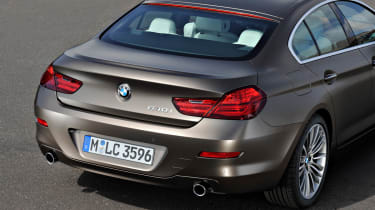 BMW 6-series Gran Coupe rear view