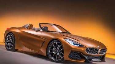 BMW Z4 Concept - front three quarter