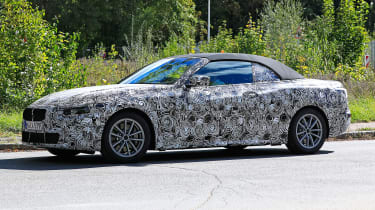 BMW 4-series spy (2019) - profile