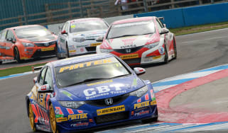 British Touring Cars Donington Park Andrew Jordan Honda Civic