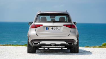 new Mercedes-Benz GLE - tail