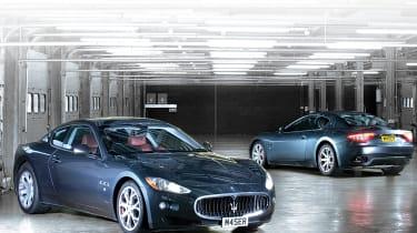 Maserati GranTurismo front and rear
