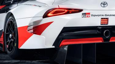 Toyota Supra GRMN - rear lights