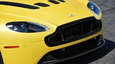 Aston Martin V12 Vantage S vented bonnet