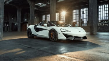 Novitec McLaren 570S Spider – front quarter
